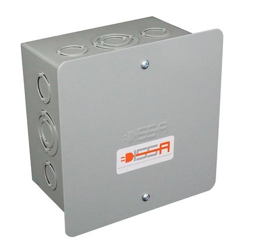"Caja de Paso 8""X8""X4"" Tapa Plana Image"