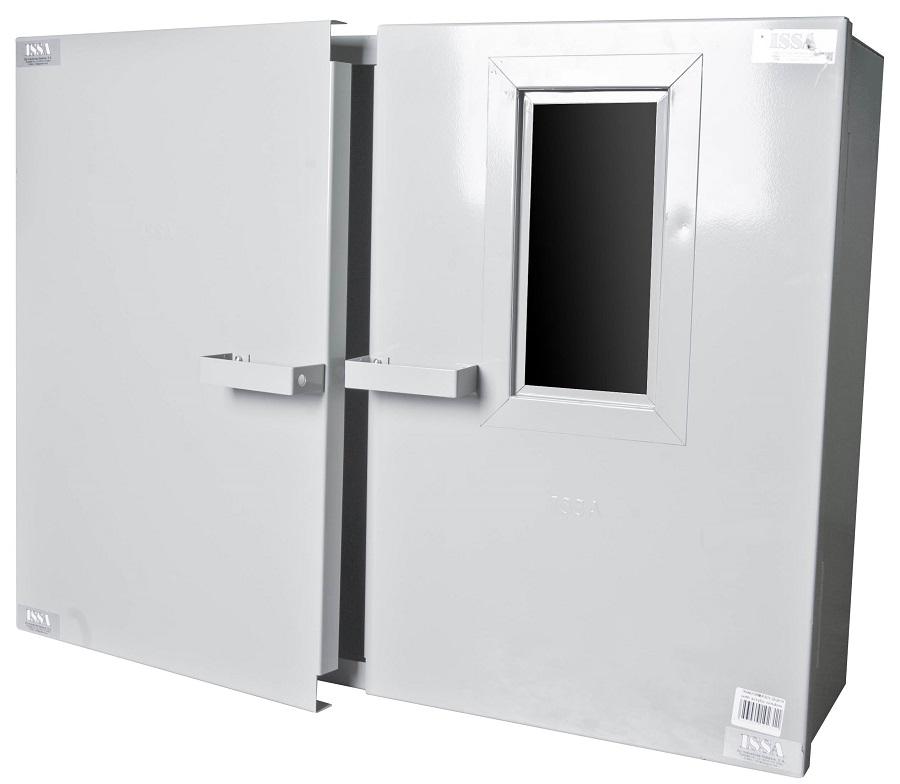 "Caja de Transformador 32""X24""X10"" Con Ventana Image"
