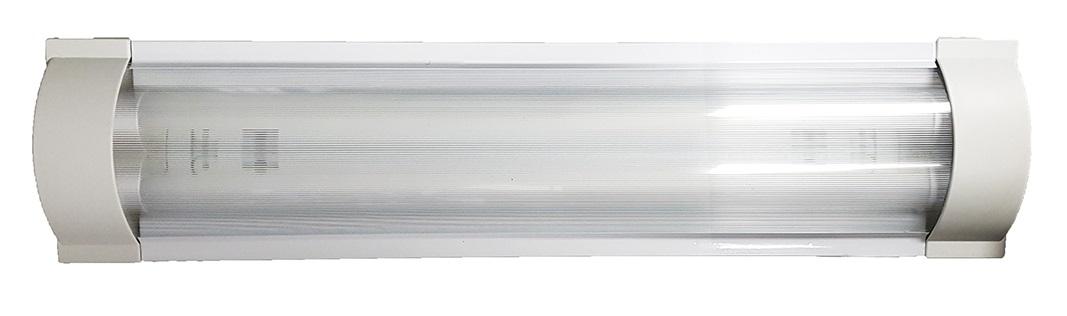 Luminaria Decorativa Led 1 a 2 tubos de 9W Pantalla Acrílica Image