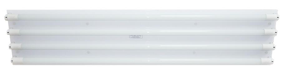 Luminaria Canal Led de 4 tubos de 18W Image