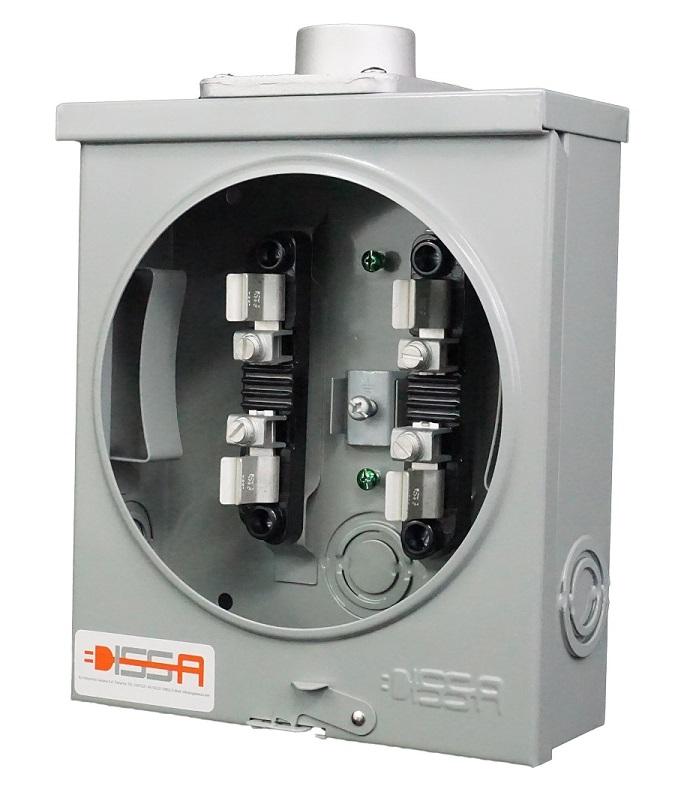 Medidor Cuadrado de 100 amp Image
