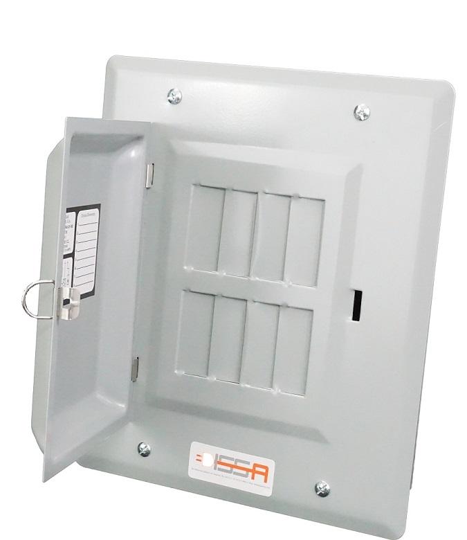 Panel de 8 circuitos con puerta Image